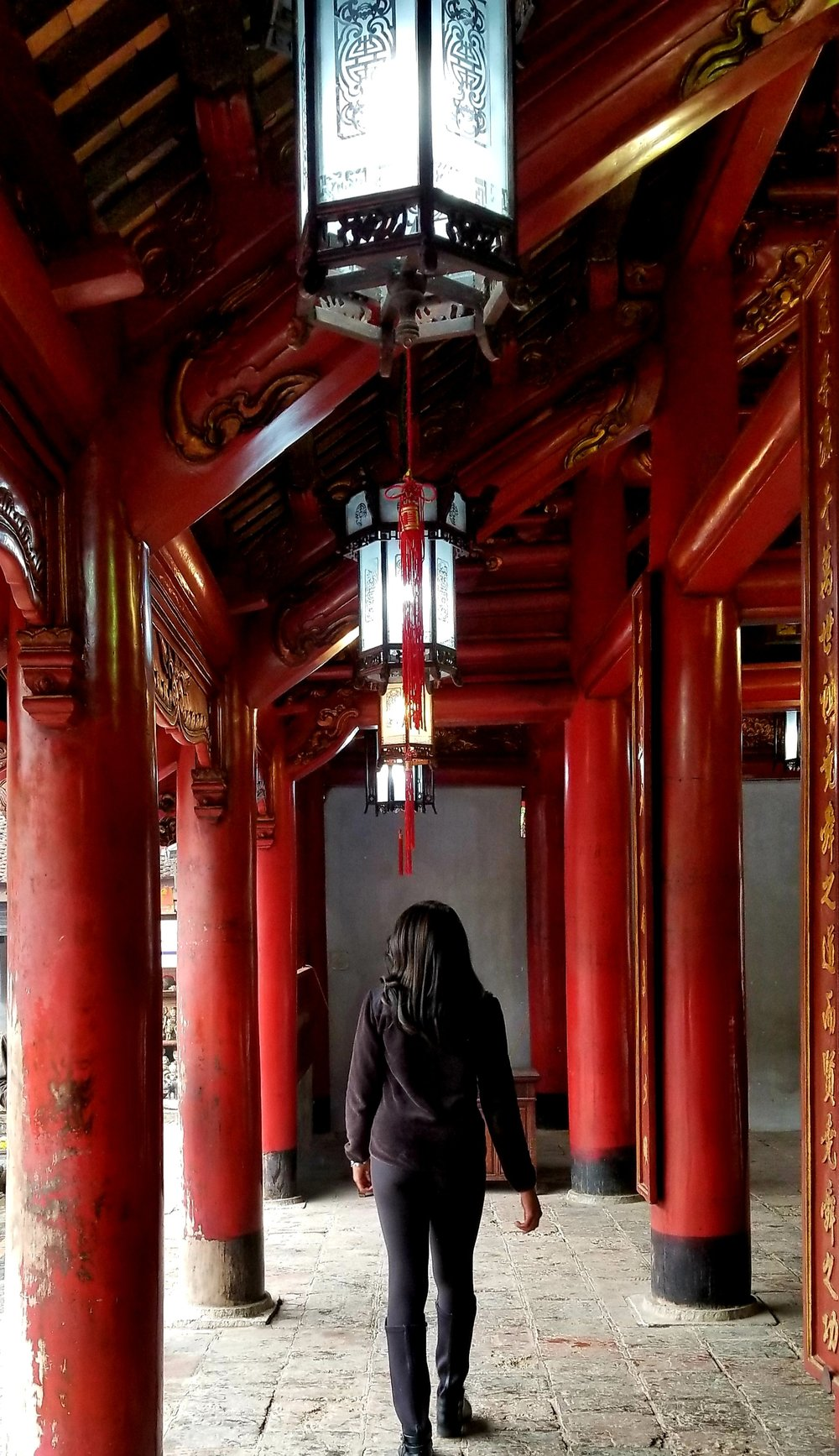 Temple of Literature, Hanoi Vietnam. Photo Courtesy Jasmine Thurston