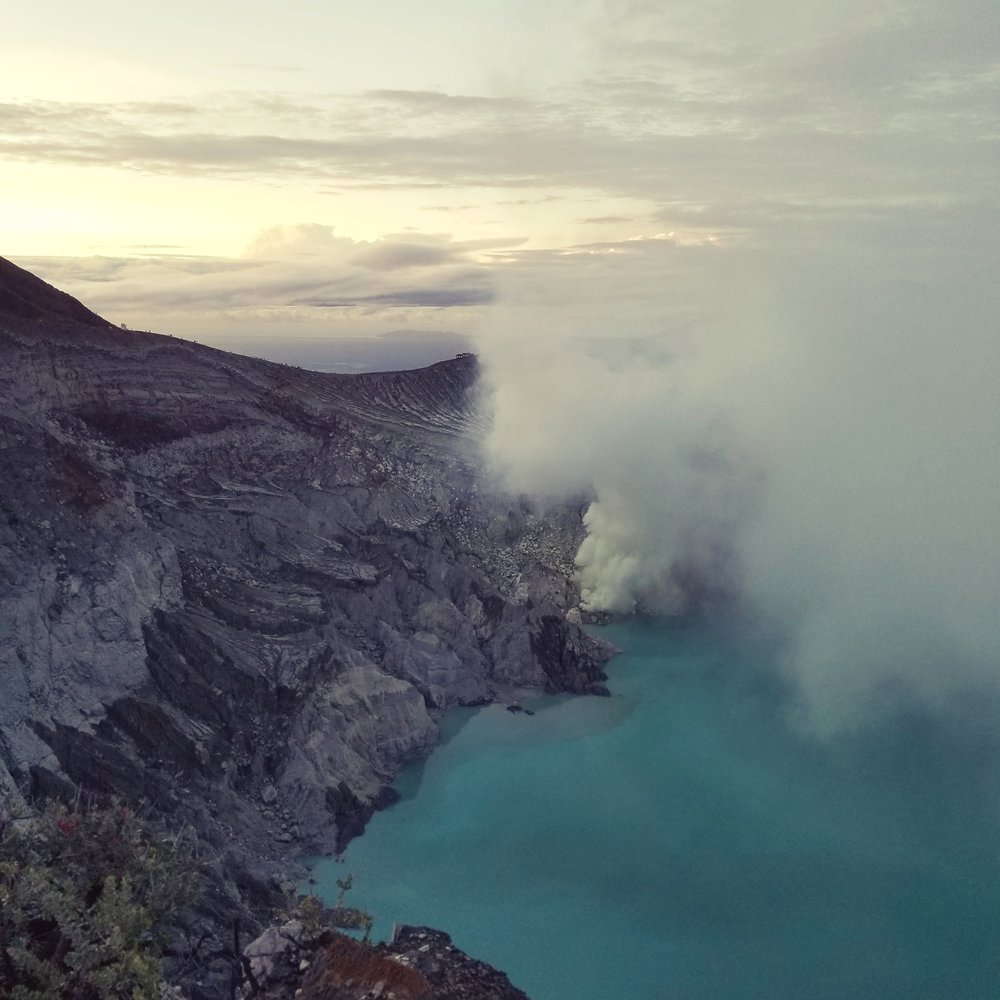 Mt. Ijen. East Java, Indonesia.