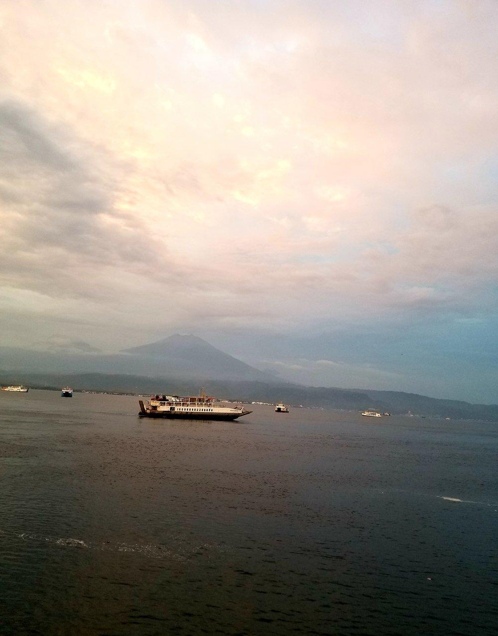View from Bali's Gilimanuk Ferry. Photo Courtesy J.Thurston