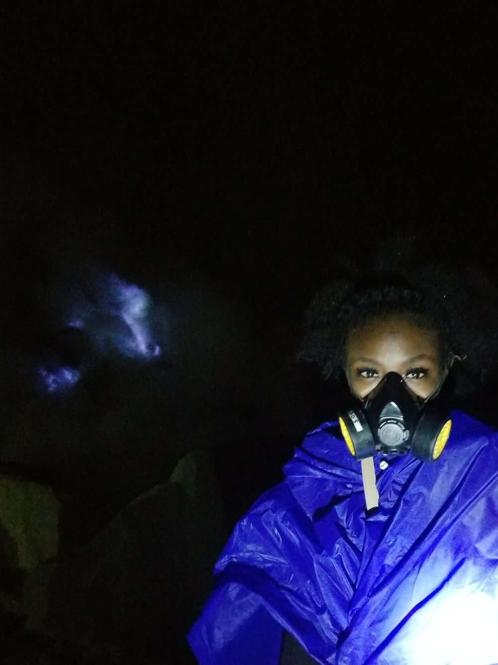 On Ijen With a Gas Mask