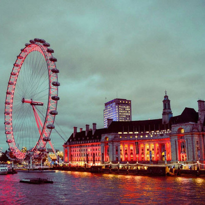 The London Eye. London, United Kingdom.