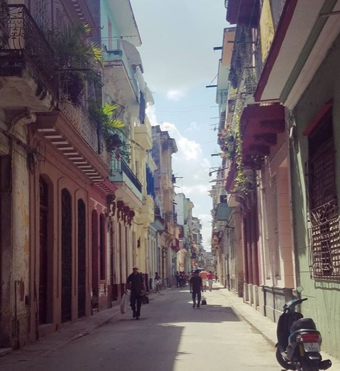 Calle Obispo is one of Havana's most traveled streets in the municipality of Habana Vieja. Photo Credit, J.Thurston