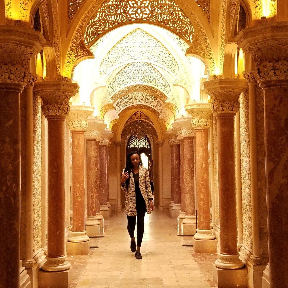 Monserrate Palace. Sintra, Portugal. Photo Credit, J. Thurston