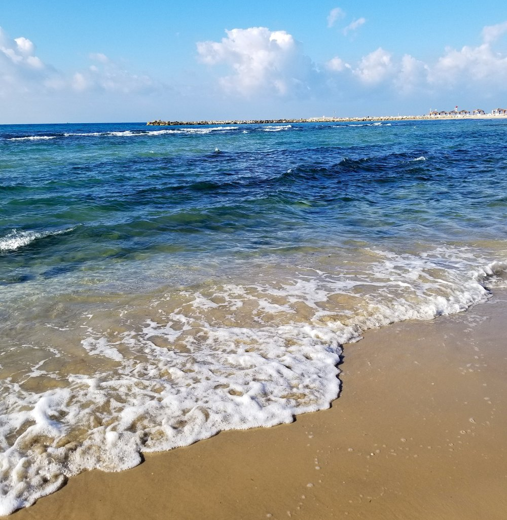 Beachfront, Tel Aviv Israel. Dec 2018. IG:_JMarieTravels