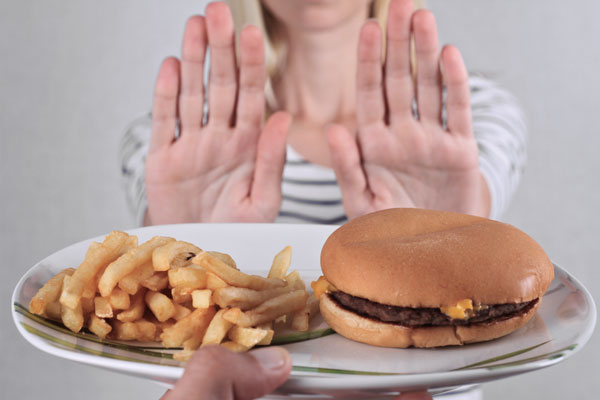 Eliminating toxins and processed foods from your diet -