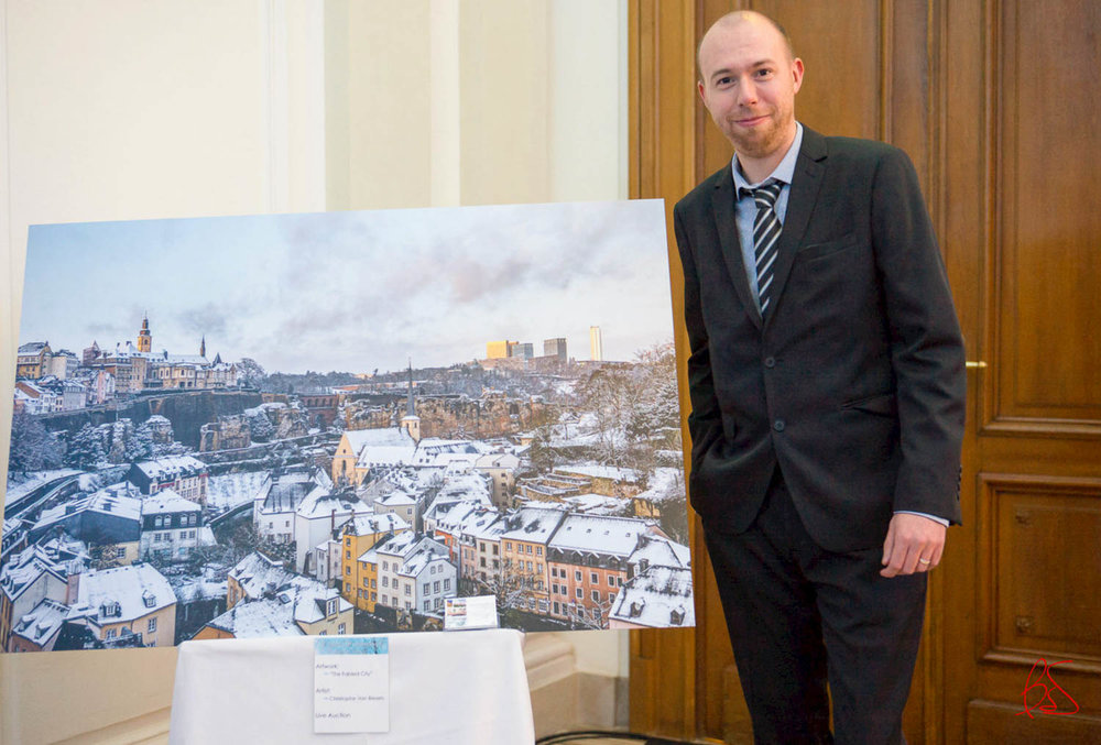 Make-A-Wish Luxembourg Winter Wonderland Gala and Auction 2016 at Cercle Cité in Luxembourg City - The Fable City picture of Luxembourg donated by photographer Christophe Van Biesen