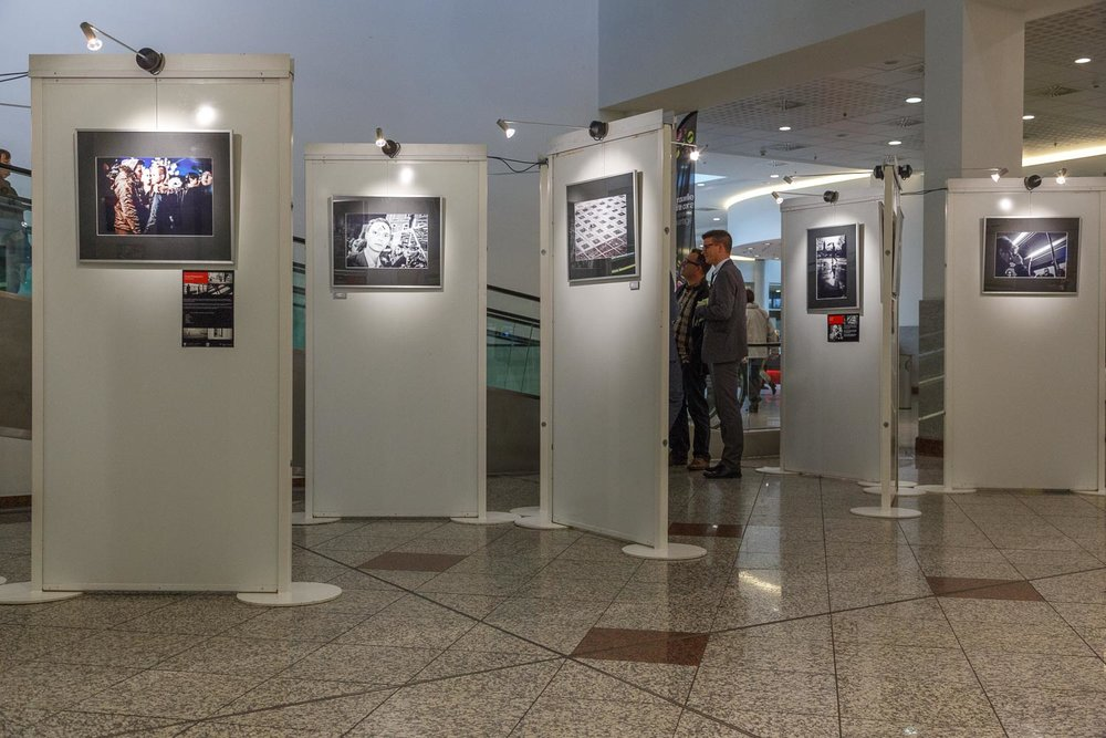 Collective exhibition by Street Photography Luxembourg at City Concorde in Bertrange