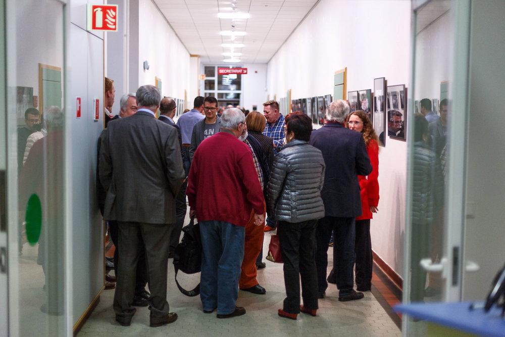 Collective exhibition by Street Photography Luxembourg at the Lycée de Garçons Esch-sur-Alzette