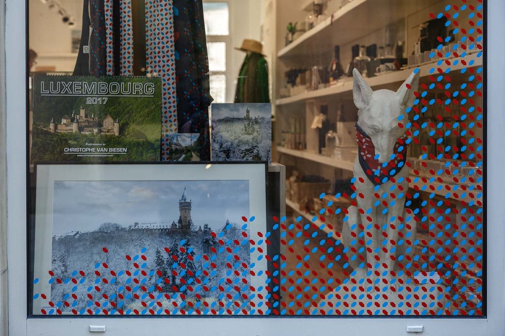 Art on sale at the Luxembourg House Concept Store - Calendar - Postcards - Glass Blocks - Fine Art Prints