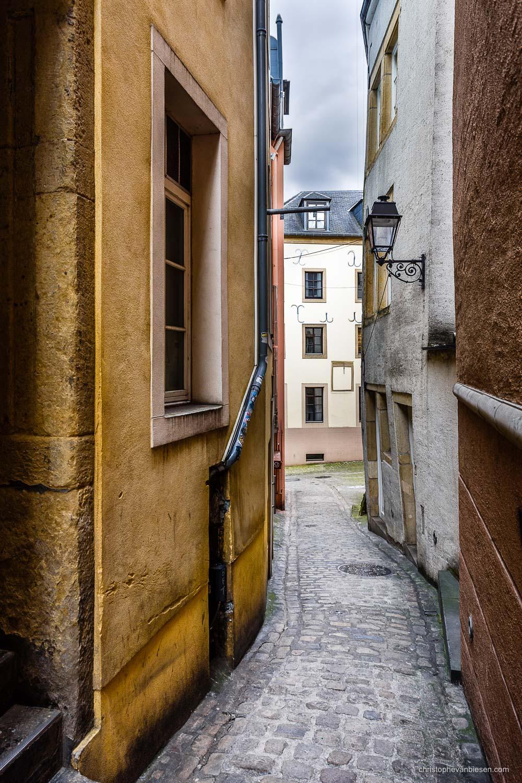 Narrow Streets of Luxembourg City - Rue de la loge in Narrow Streets of Luxembourg City - The Narrows IV