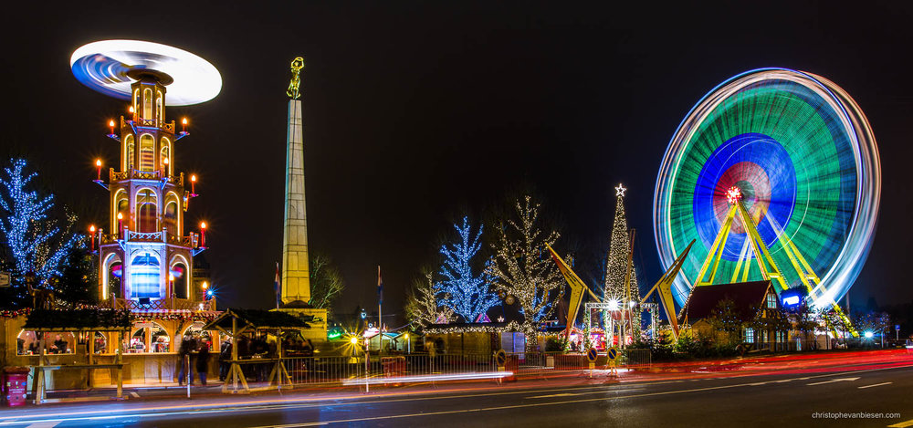 Christmas in Luxembourg - Christmas market in Luxembourg City on place de la constitution - Festive Fun