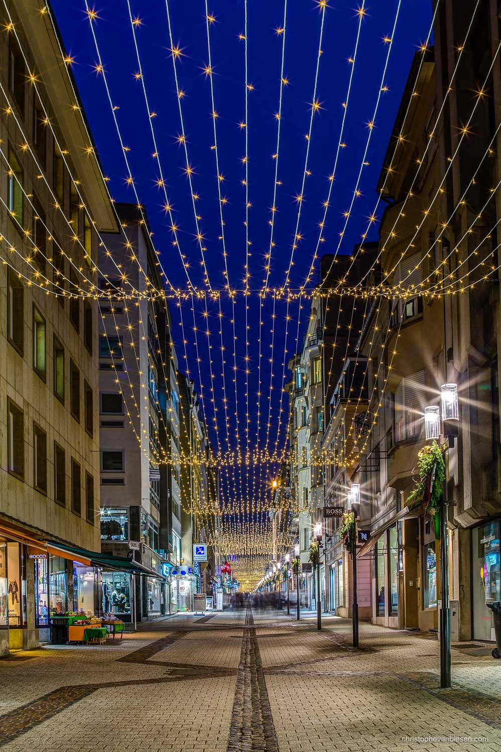 Christmas in Luxembourg - Christmas Winter Lights in Christmas in Luxembourg - Waves of Lights