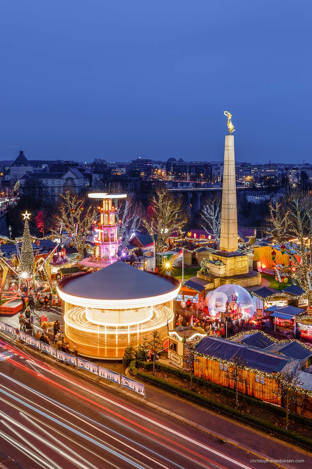 Christmas in Luxembourg - Luxembourg's Christmas market in full swing - 'Tis the Season