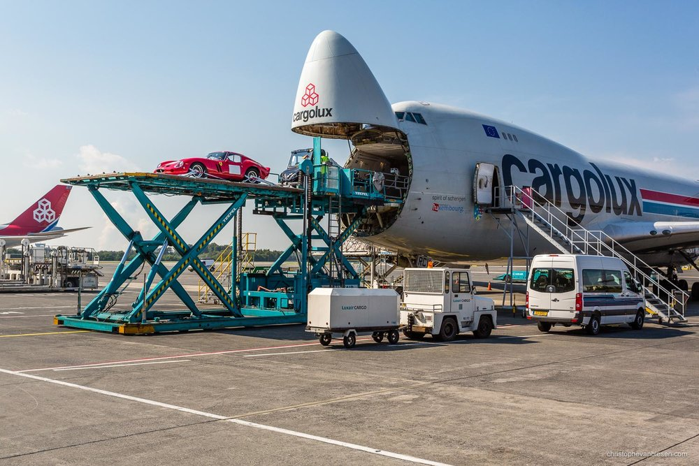 Work with me - Commission Work - Boeing 747 of Luxembourg's Cargolux fleet - Precious Cargo - Photography by Christophe Van Biesen - Luxembourg Landscape and Travel Photographer