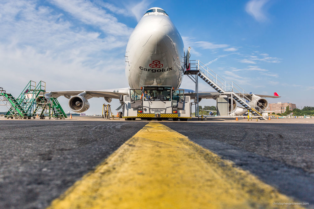 Work with me - Commission Work - Boeing 747 of Luxembourg's Cargolux fleet - The Valiant - Photography by Christophe Van Biesen - Luxembourg Landscape and Travel Photographer