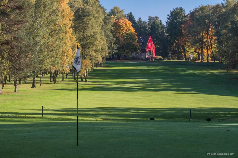 Work with me - Commission Work - Golf Club Grand Ducal Luxembourg Senningerberg - Hole 1 - Photography by Christophe Van Biesen - Luxembourg Landscape and Travel Photographer