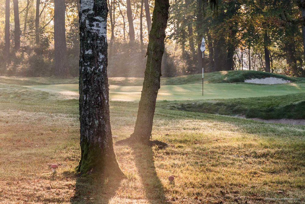 Work with me - Commission Work - Golf Club Grand Ducal Luxembourg Senningerberg - Hole 14 - Photography by Christophe Van Biesen - Luxembourg Landscape and Travel Photographer