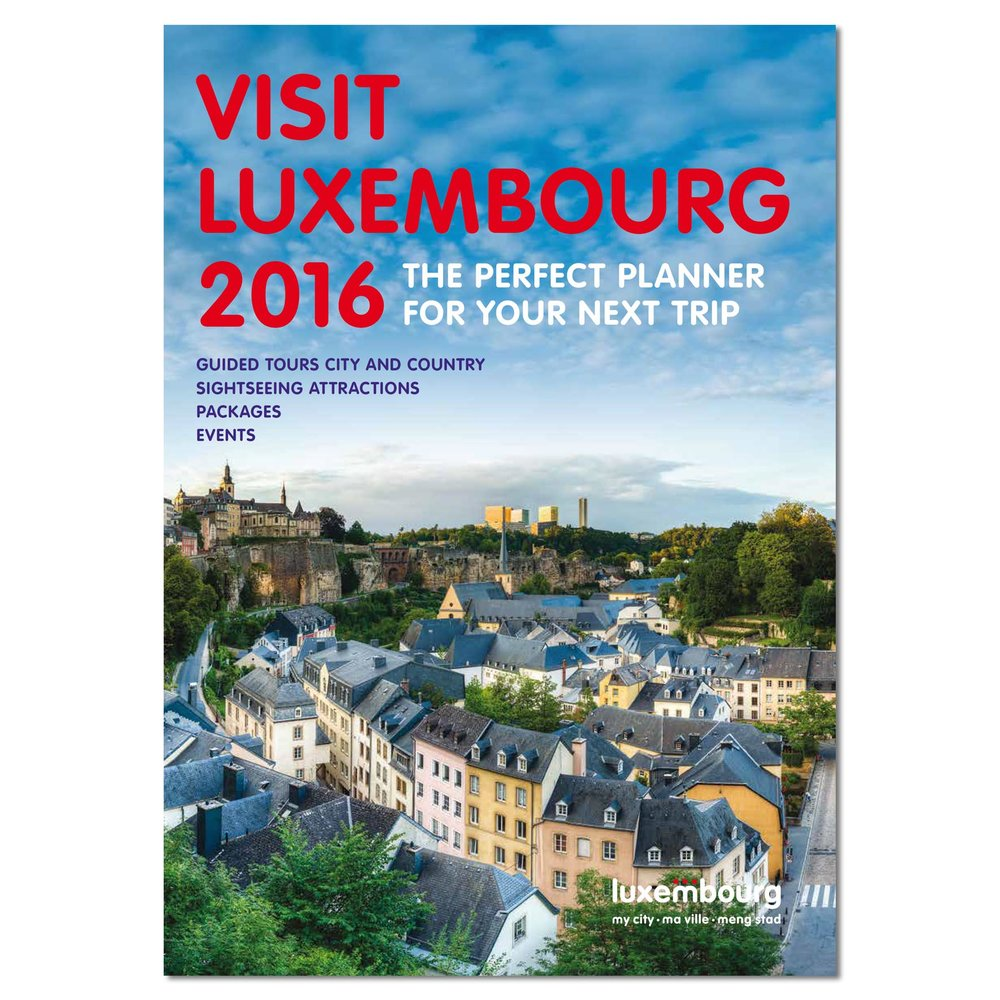 Cover of Visit Luxembourg 2016 - City Trip Planner