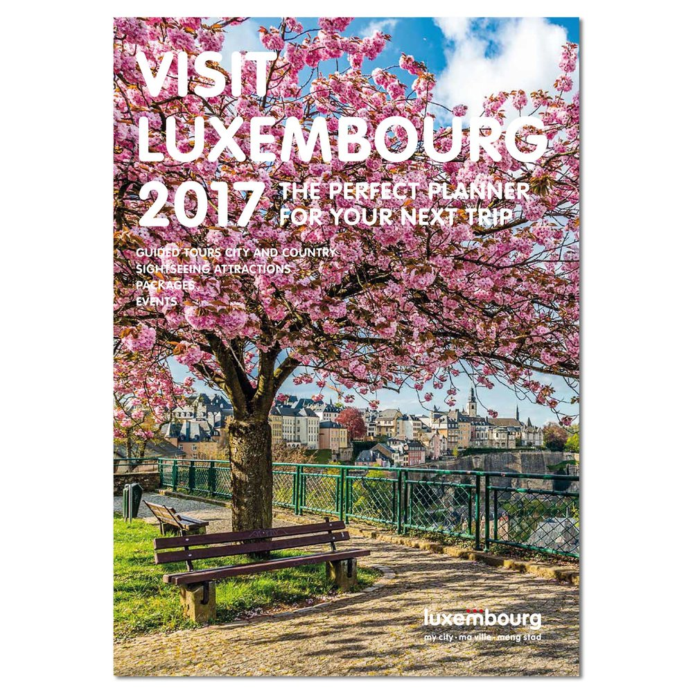 Cover of Visit Luxembourg 2017 - City Trip Planner