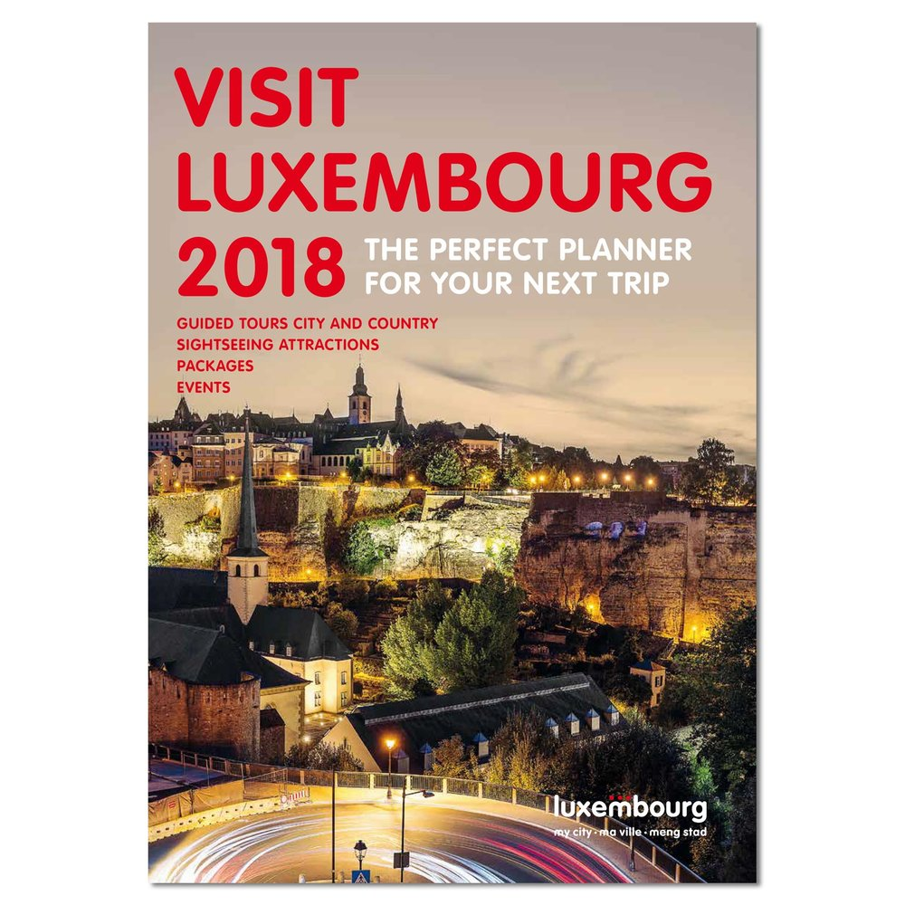 Cover of Visit Luxembourg 2018 - City Trip Planner