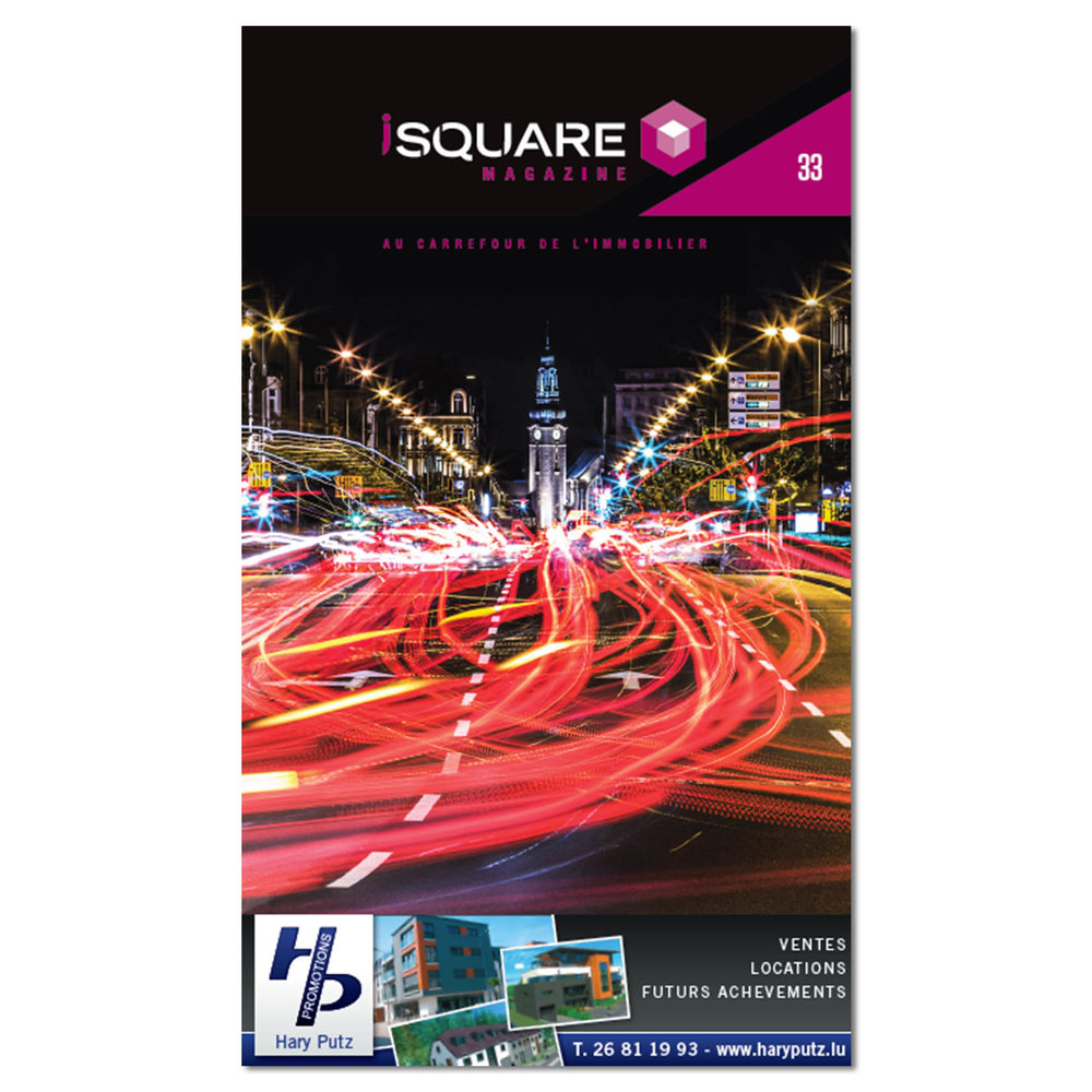 Cover of iSquare Magazine Number 33
