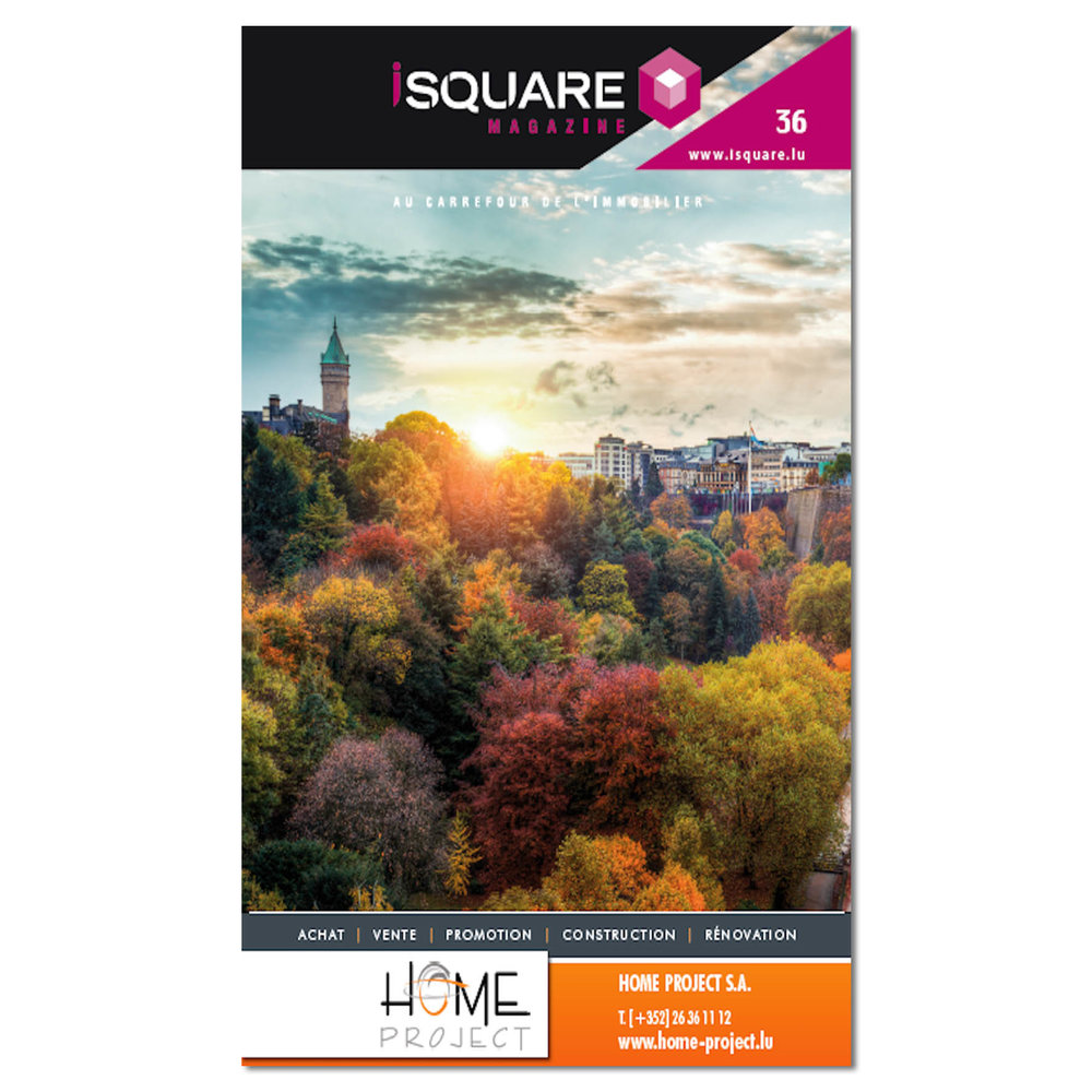 Cover of iSquare Magazine Number 36