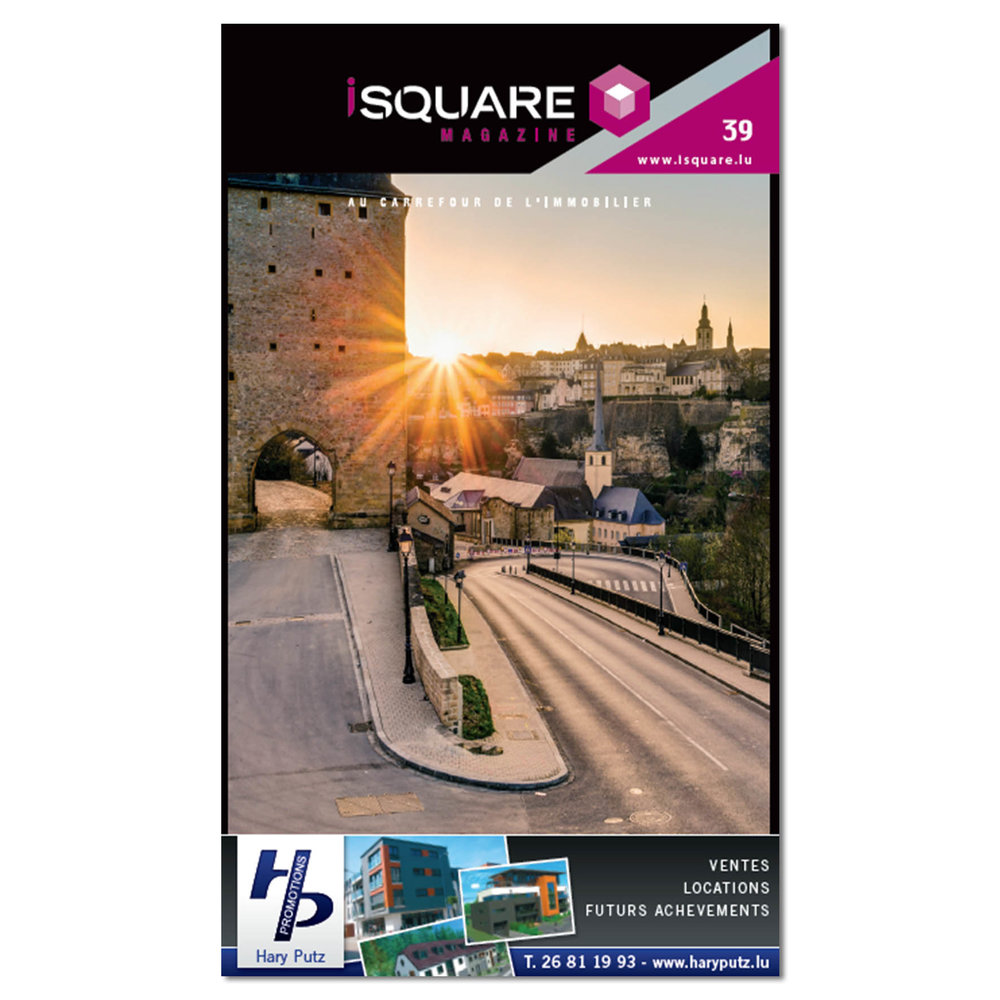 Cover of iSquare Magazine Number 39
