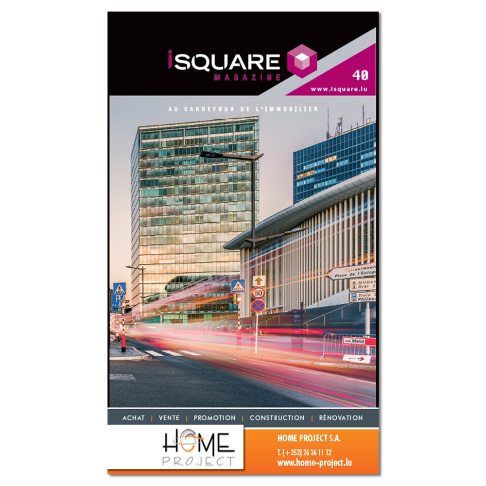 Cover of iSquare Magazine Number 40