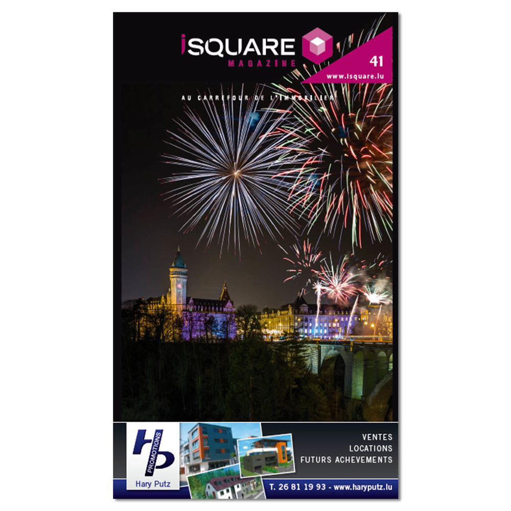 Cover of iSquare Magazine Number 41