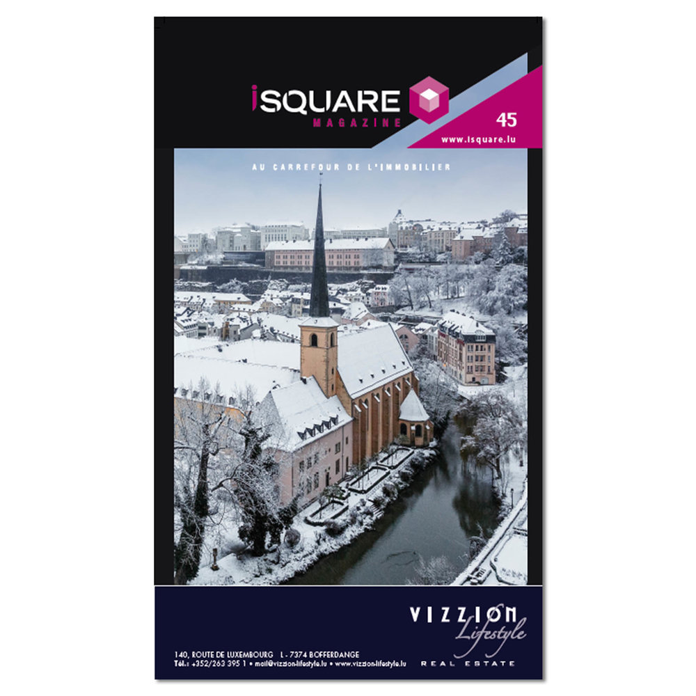 Cover of iSquare Magazine Number 45