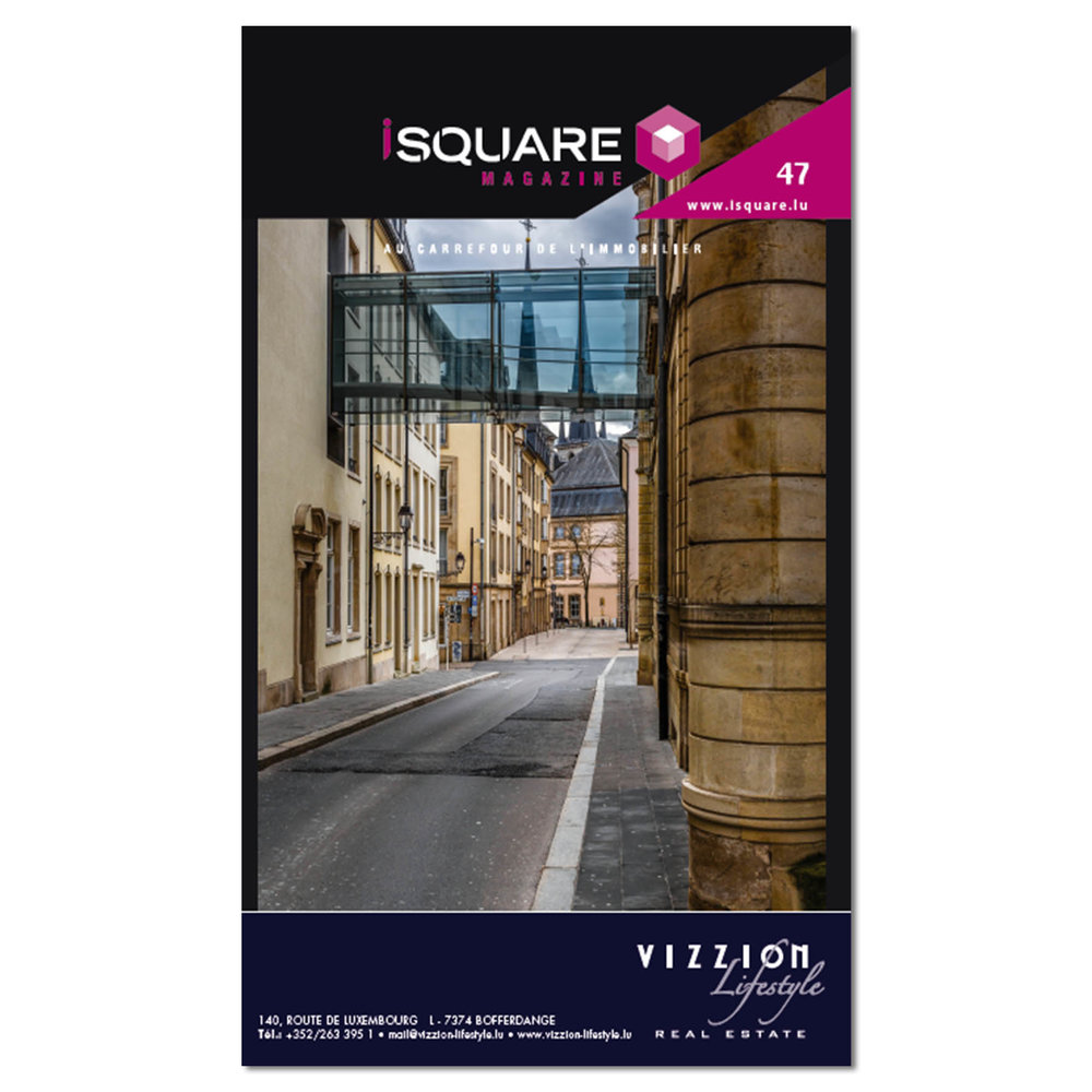 Cover of iSquare Magazine Number 47