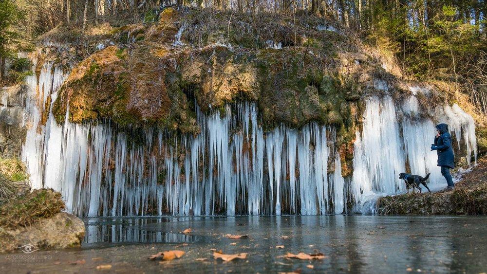 Photography Workshop Mullerthal - Luxembourg - Kalktuffquelle in winter