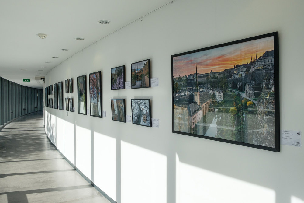 Exhibition at the European Court of Auditors - Photography exhibition by Christophe Van Biesen at the ECA in Luxembourg City