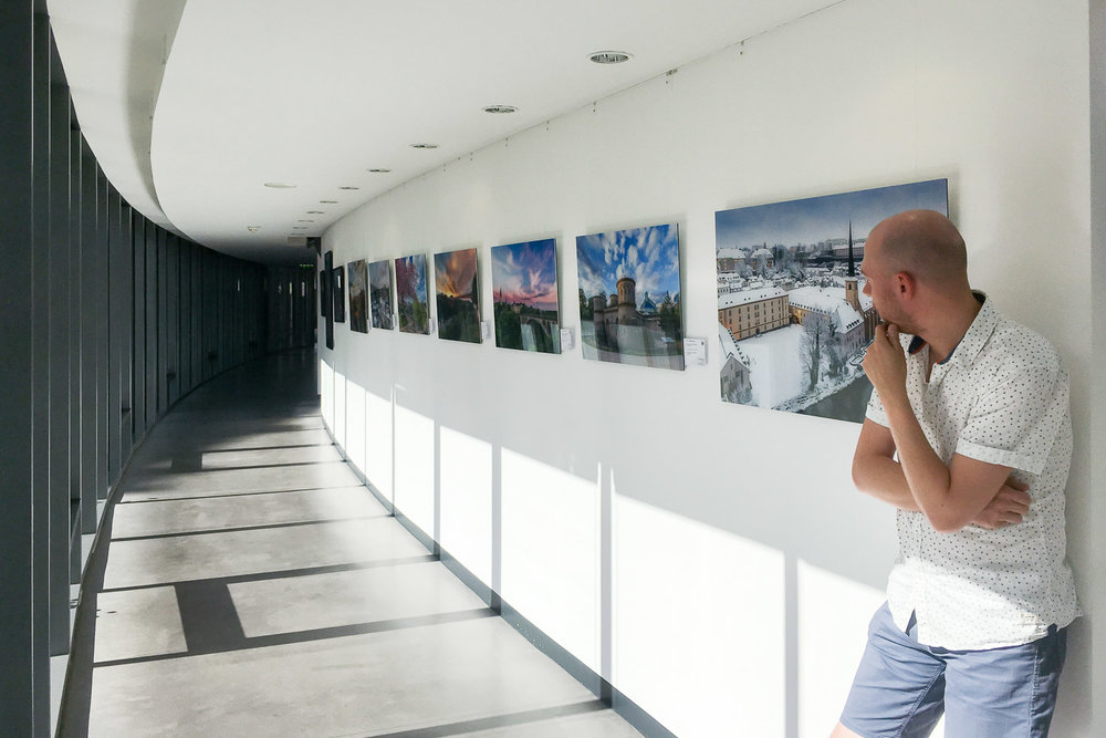 Photography exhibition by Christophe Van Biesen at the ECA in Luxembourg City - Exhibition at the European Court of Auditors