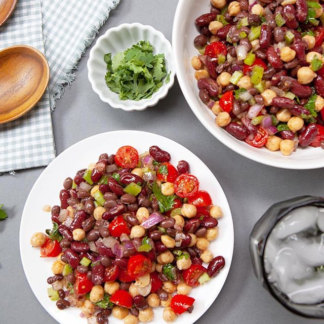 Ok, this is important! Sooo goooood! Thank you @getepicured! ⠀ https://www.gardenoflife.com/content/garden-recipes/summer-bean-salad/⠀ ⠀ #drive495 #eatclean #getstrong #fitfluential