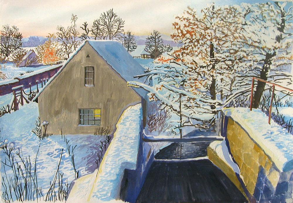 Ratzeburg, Winter
