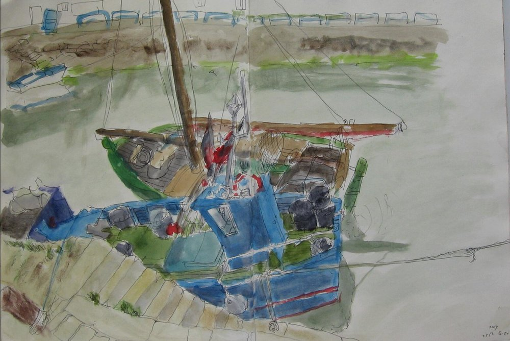 Port Tudy, boats