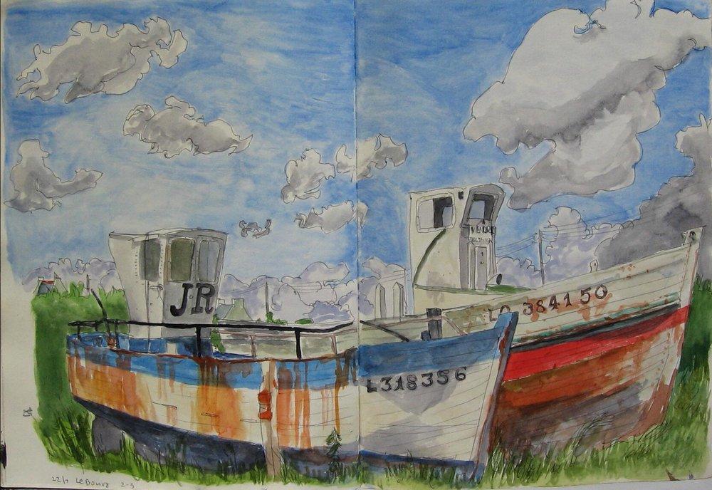 Groix, boates 1992