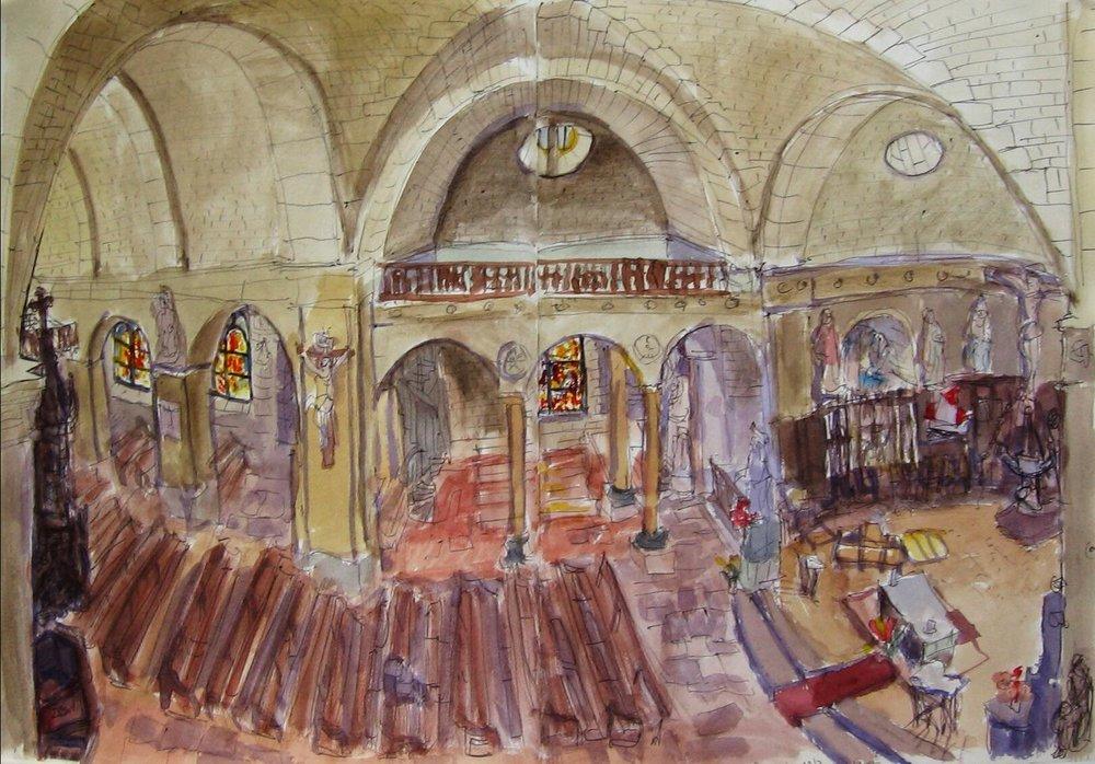Groix, l'église 1le Bourg
