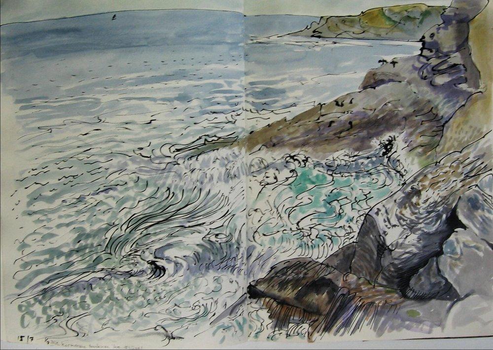 Groix, Kormorabe 1993