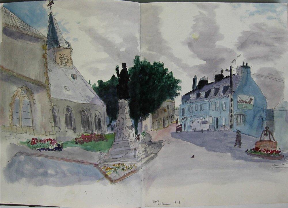 Groix, LeBourg
