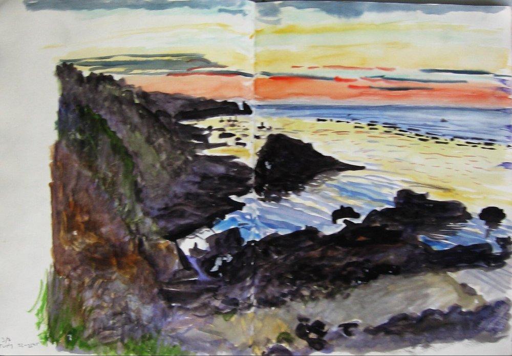 Groix, Port Tuda 1993