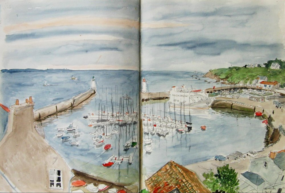 Groix Port Tudy 1990