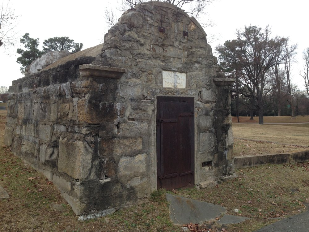 Mausoleum Before Restoration