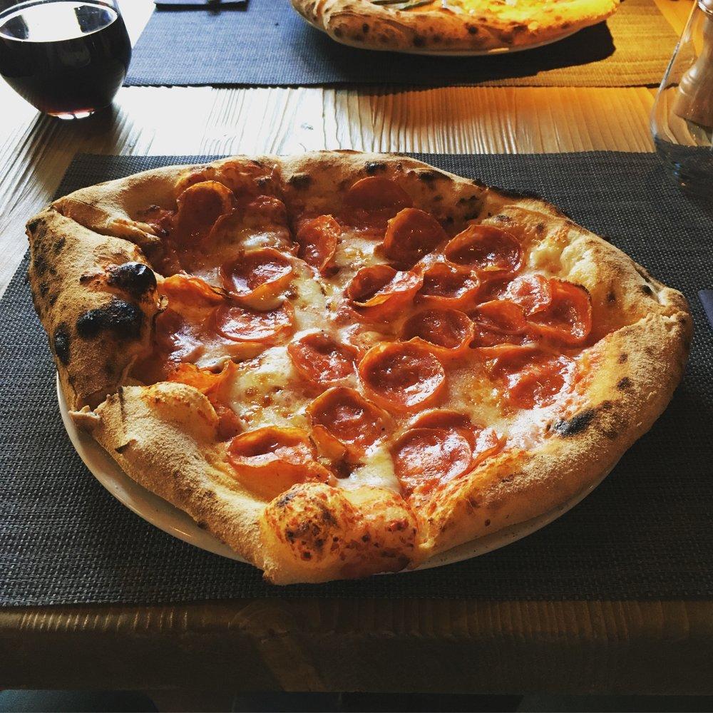 pizza five: diavola