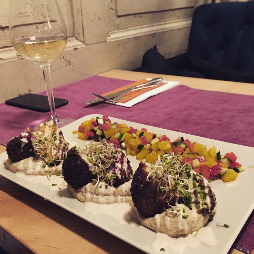 falafel în trei culori