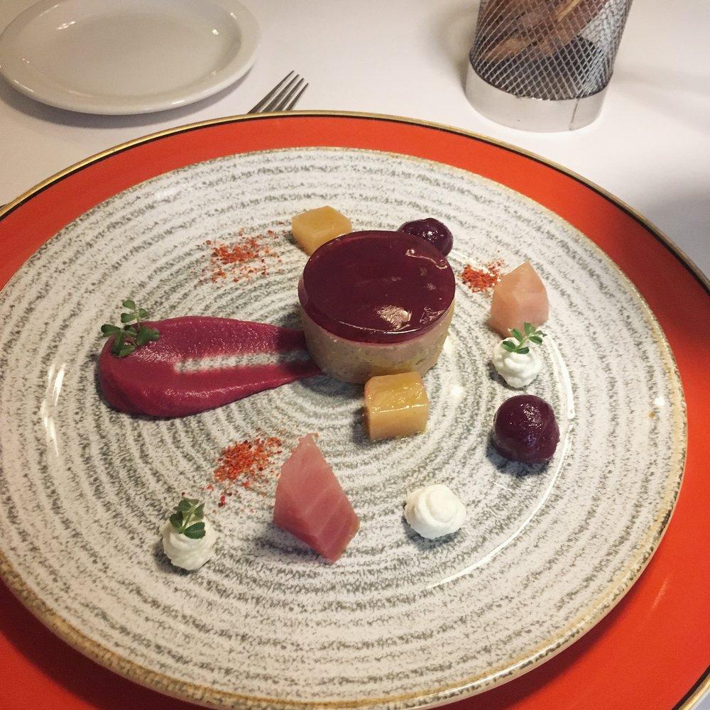 foie gras cu porto