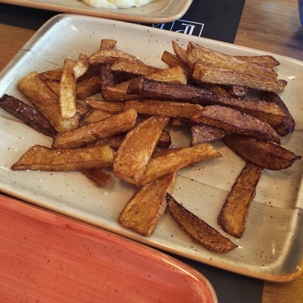 cartofi arși