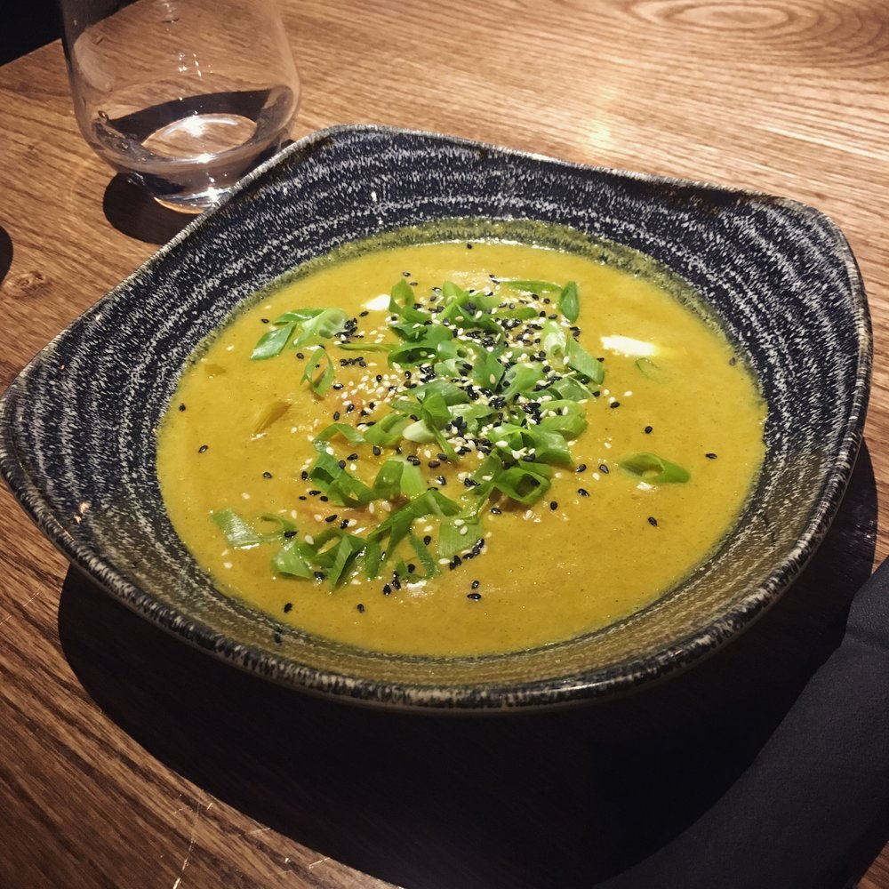 curry verde cu legume