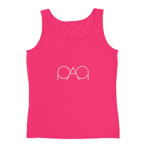 Womens Hot Pink PAQ Tank